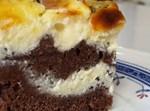 עוגת שוקו גבינה טלאים מטורפת