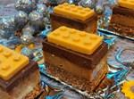 עוגת לגו בשלוש שכבות בקלי קלות