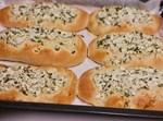 מאפה גבינה וירק קצוץ
