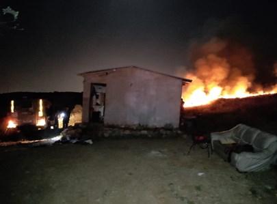 הבית שנפגע בעוז ציון