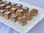 קוביות ריבת חלב ושוקולד טעימות בטירוף