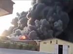 המפעל עולה בלהבות