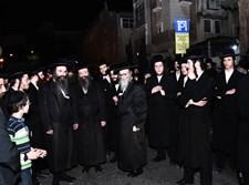 """האדמו""""רים החדשים מספינקא בלוויה"""