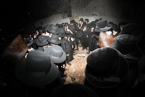 """הלווית הב' יוסף עמרם טאובר ז""""ל"""