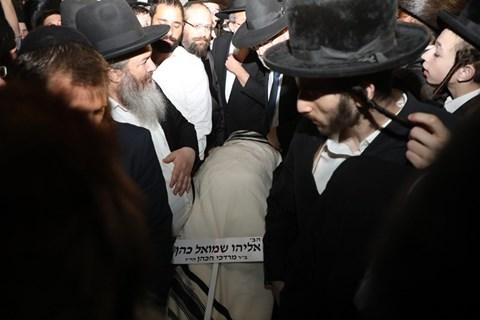 """הלווית הב' אליהו שמואל כהן ז""""ל"""