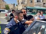 """מפגין נחנק ע""""י שוטר בירושלים"""