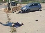 גופות המחבלים לאחר ניסיון הפיגוע