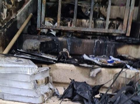 הנזק שנגרם לבית הכנסת