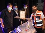 כנס הוקרה למתנדבי הצלה שטיפלו באסון מירון