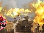 טנקים מפגיזים בגבול הרצועה