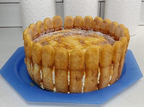 עוגת גבינה ובישקוטים