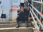 הרב מוסקוביץ במדרגות המוות במירון