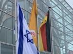 דגל ישראל מונף בברלין