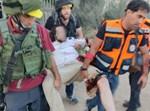 פינוי הפצוע מהירי בלוד