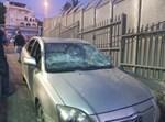 רכבם של המשפחה שנקלעה לאום אל פאחם