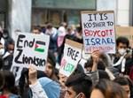 הפגנות נגד ישראל