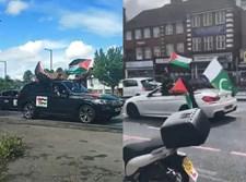 השיירה האנטישמית בלונדון