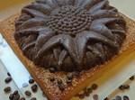 עוגת מייפל עם כתר שוקולד
