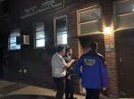 ארגון השומרים והמשטרה בסריקת מקום האירוע