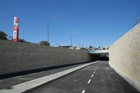 המנהרה החדשה בצומת פת