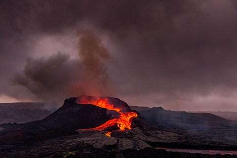 התפרצות הר הגעש באיסלנד