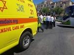 זירת התאונה בביתר עילית