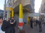 היערכות המשטרה לקראת ההפגנה נגד חנויות הסלולר בבני ברק
