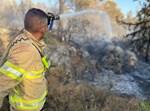 ההשתלטות על השריפה ליד ביתר עילית