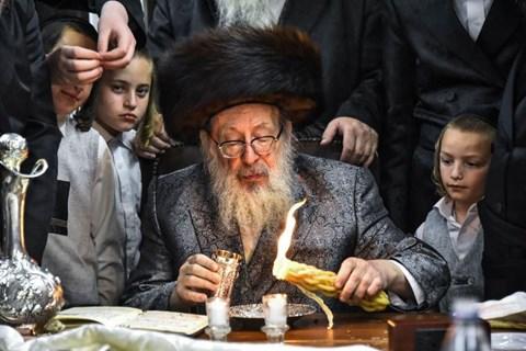 """הרבי מספינקא ארה""""ב בישראל"""