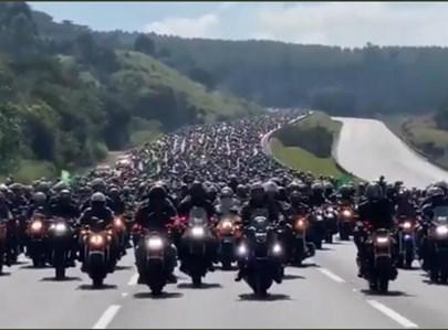 אלפי האופנועים בברזיל