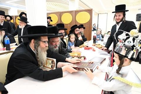 מסיבת חומש בצאנז ירושלים