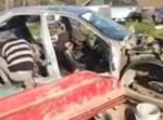 הרכב בו נפתחה כרית האוויר