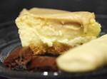 עוגת גבינה בציפוי קרם קפה