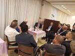 נתניהו ובכירי הליכוד במזנון הכנסת