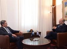 נפתלי בנט בפגישה עם נשיא הונדורס