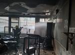 כוחות הכיבוי פועלים בבניין התלמוד תורה של חסידי בעלזא באשדוד