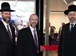 הרב דוד לאו, הרב צבי לאו ויצחק קויפמן באירוע ההשקה