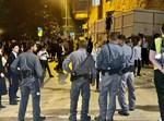 הפגנת הקיצונים נגד בניית הרכבת הקלה בירושלים