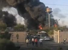 שריפה באיראן