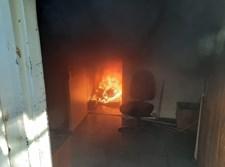 השריפה במחסני העירייה