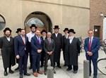 ביקור השגריר המוסלמי באנטוורפן החרדית