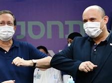 הרצוג ובנט מקבלים את החיסון