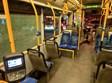 האוטובוס לאחר יידוי האבנים