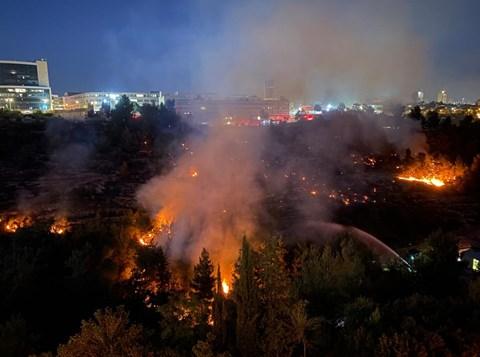 השריפה בהר נוף