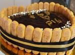 עוגת שוקולד ענקית