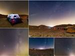 גשם של מטאורים במדבר
