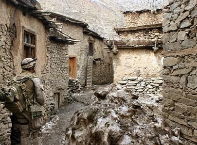 חייל באפגניסטן