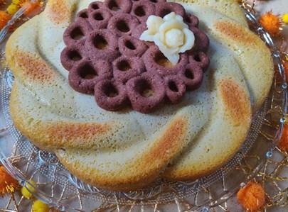 עוגת מרציפן נהדרת