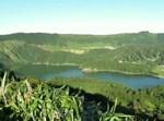 האגם שנוצר בתוך לוע הר הגעש