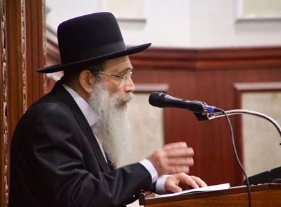 """הגר""""ש שטיינמן בשיחה בישיבת יקירי ירושלים"""
